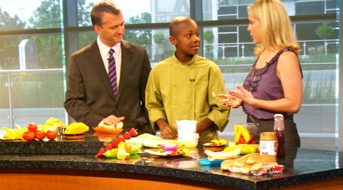 picture of chef darian davis on good morning texas